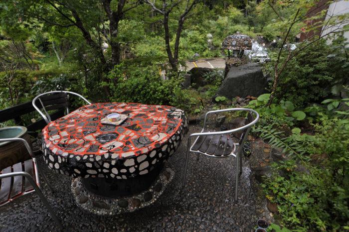 箱根店 庭