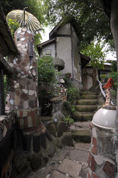 柏本店 庭の風景